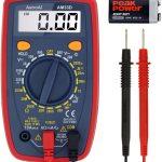 AstroAI Multimètre Numérique Portable, Mini Multimètre Digital, Testeur de Tension Testeur Electrique